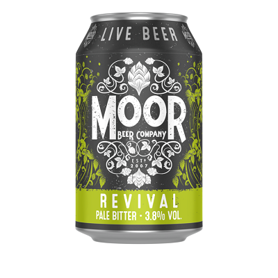 Moor - Revival / Bitter / 3.8% / 330ml