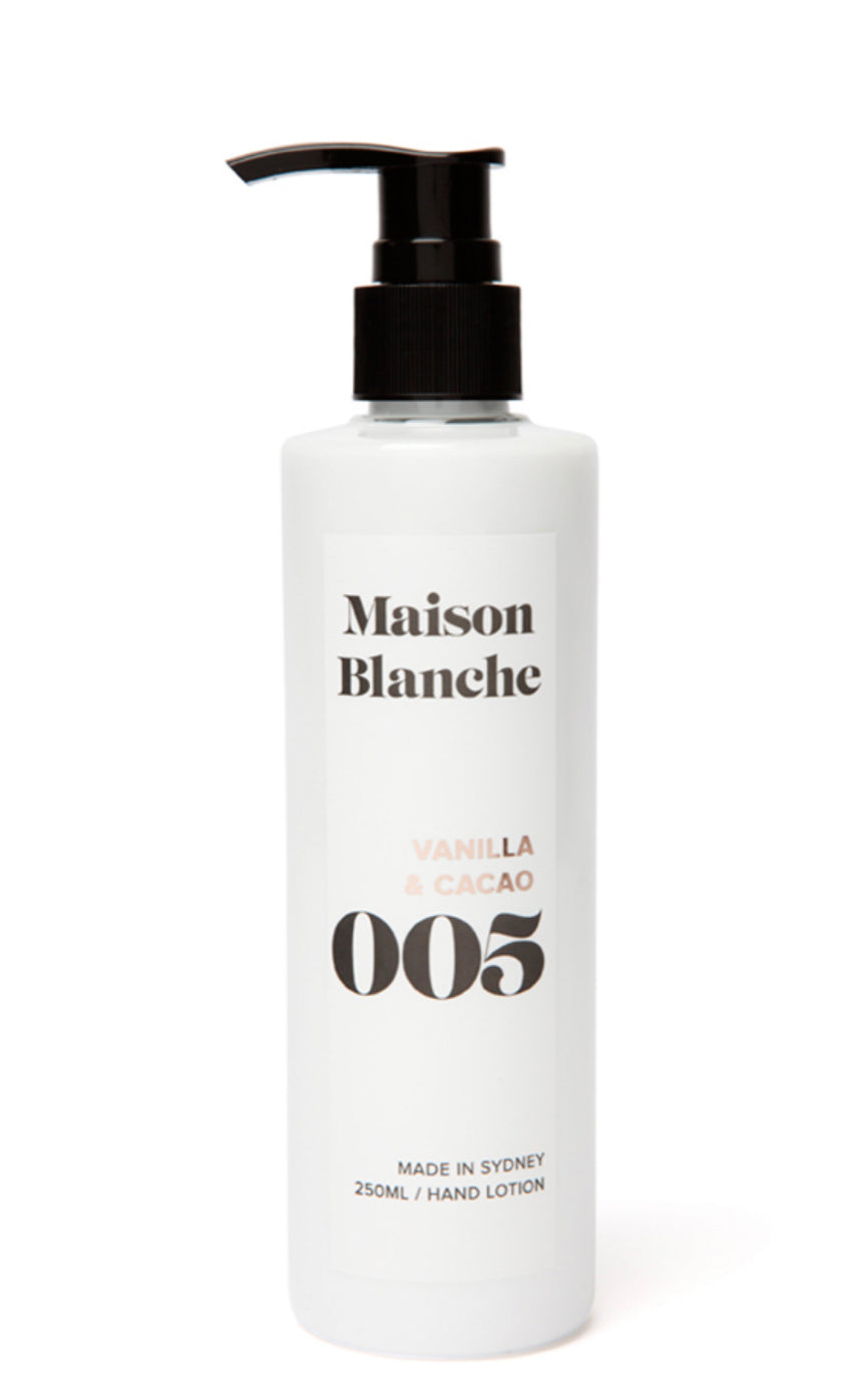 Maison Blanche Hand Lotion