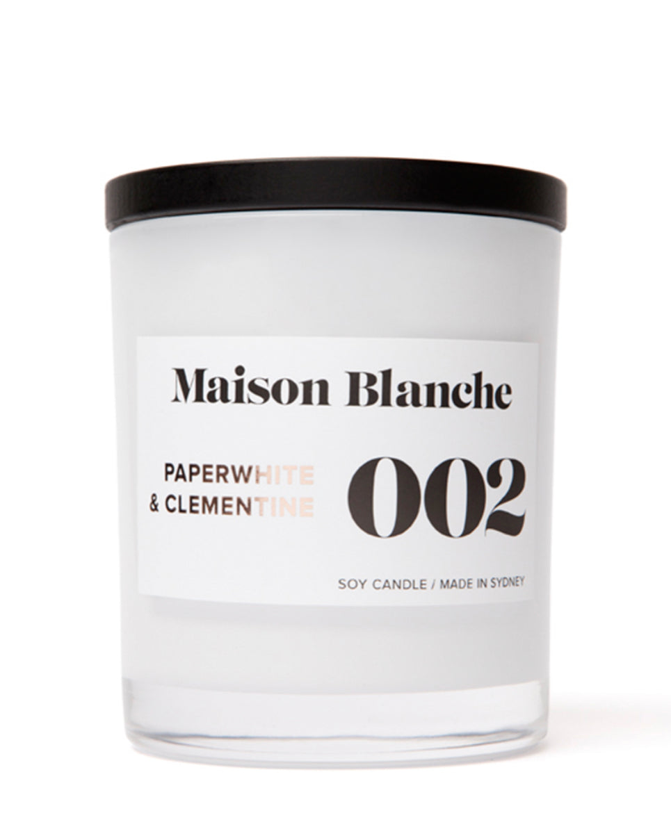 Maison Blanche Large Candle