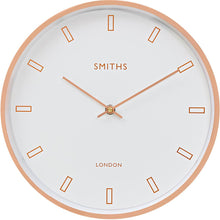 Load image into Gallery viewer, Modern Rose Gold Wall Clock