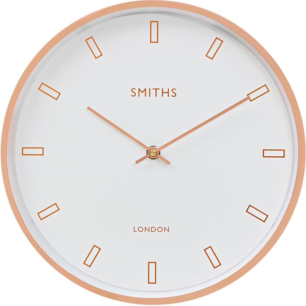 Modern Rose Gold Wall Clock