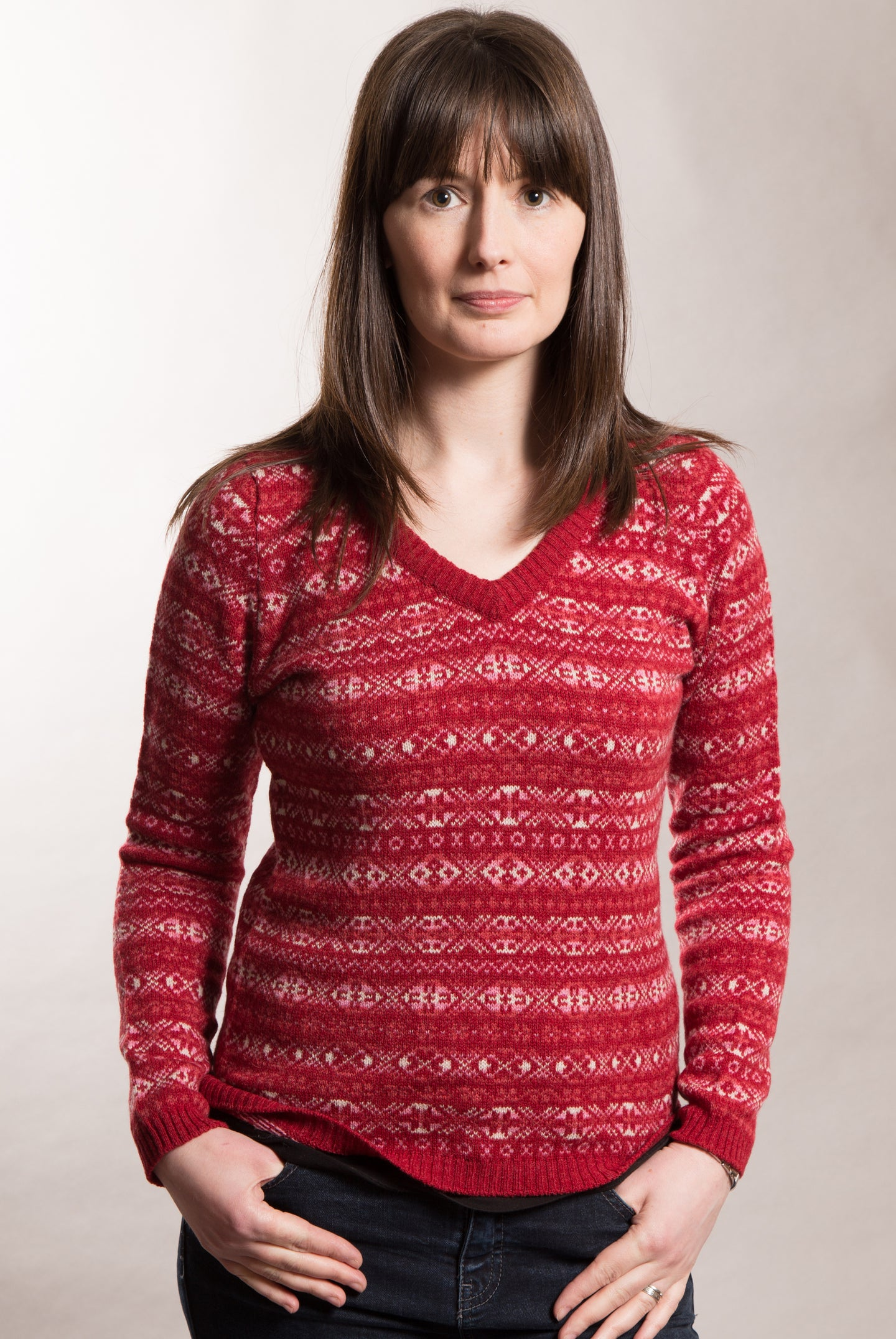 Aunty Mays Jumper V-Neck