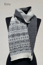 Load image into Gallery viewer, Aunty Mays Fair Isle Scarf