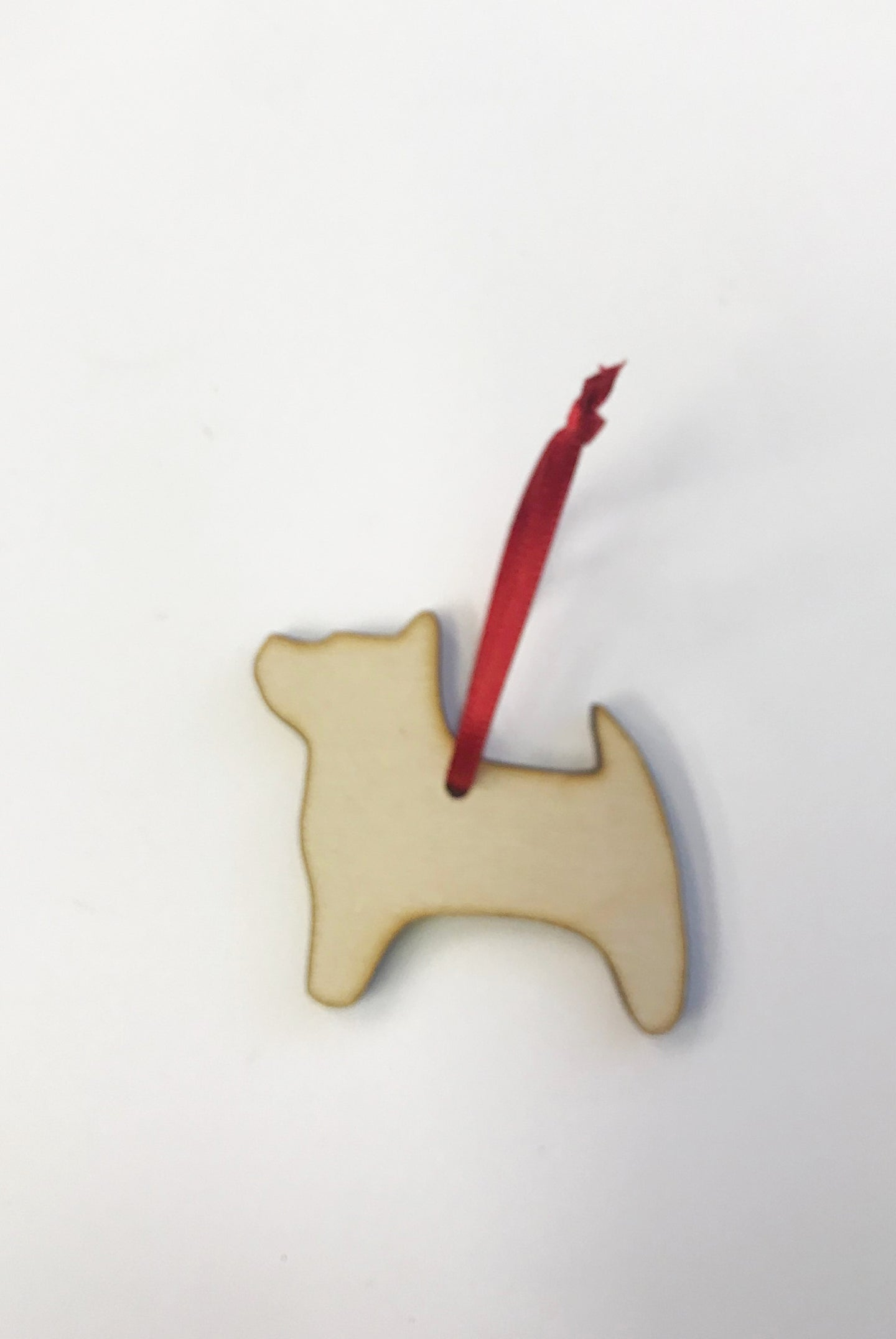 PF Wooden Decoration - Dog 2