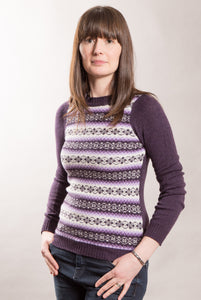 Funky Fair Isle Jumper - Crew Neck