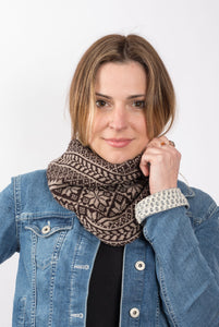 Vintage Fair Isle Snood
