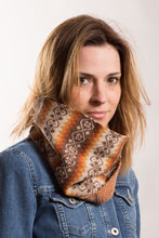 Load image into Gallery viewer, Funky Fair Isle Snood