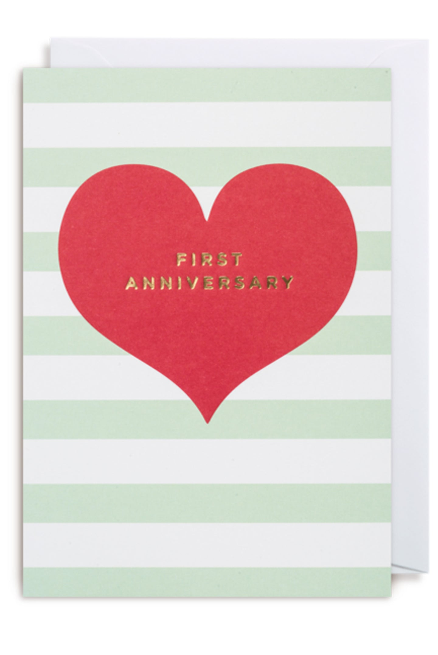 Lagom First Anniversary Card