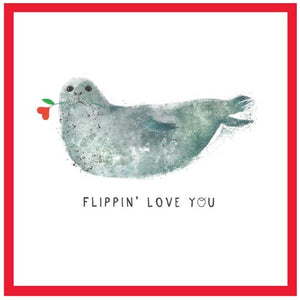 CA Flippin Love You Card