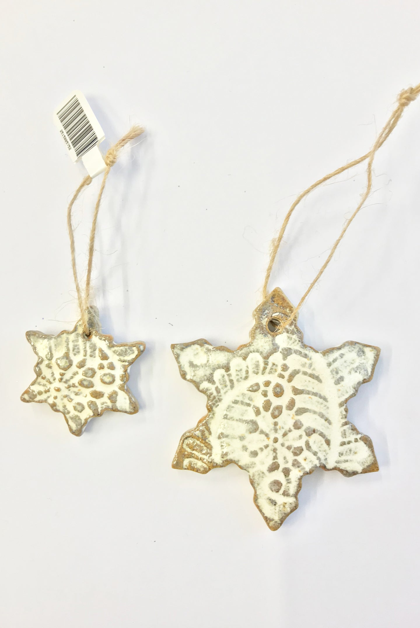 PNR Snowflake Decorations