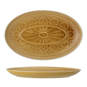 Serving Plate, Rani - Yellow