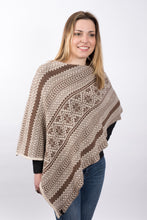 Load image into Gallery viewer, Vintage Fair Isle Poncho