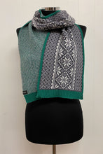 Load image into Gallery viewer, Vintage Fair Isle Border Scarf