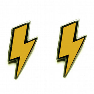 EllyMental Little Lightning Bolt Studs