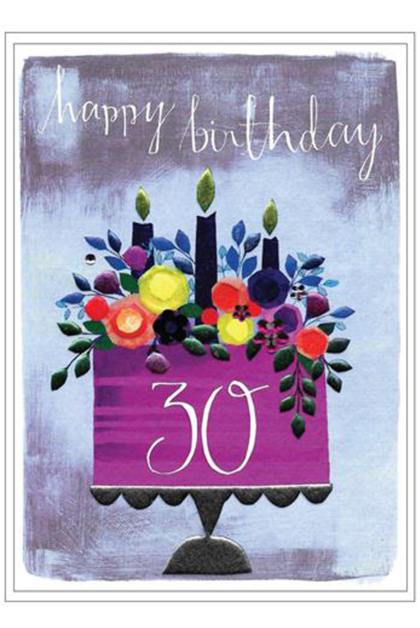 CA Claire Picard 30th Birthday Card