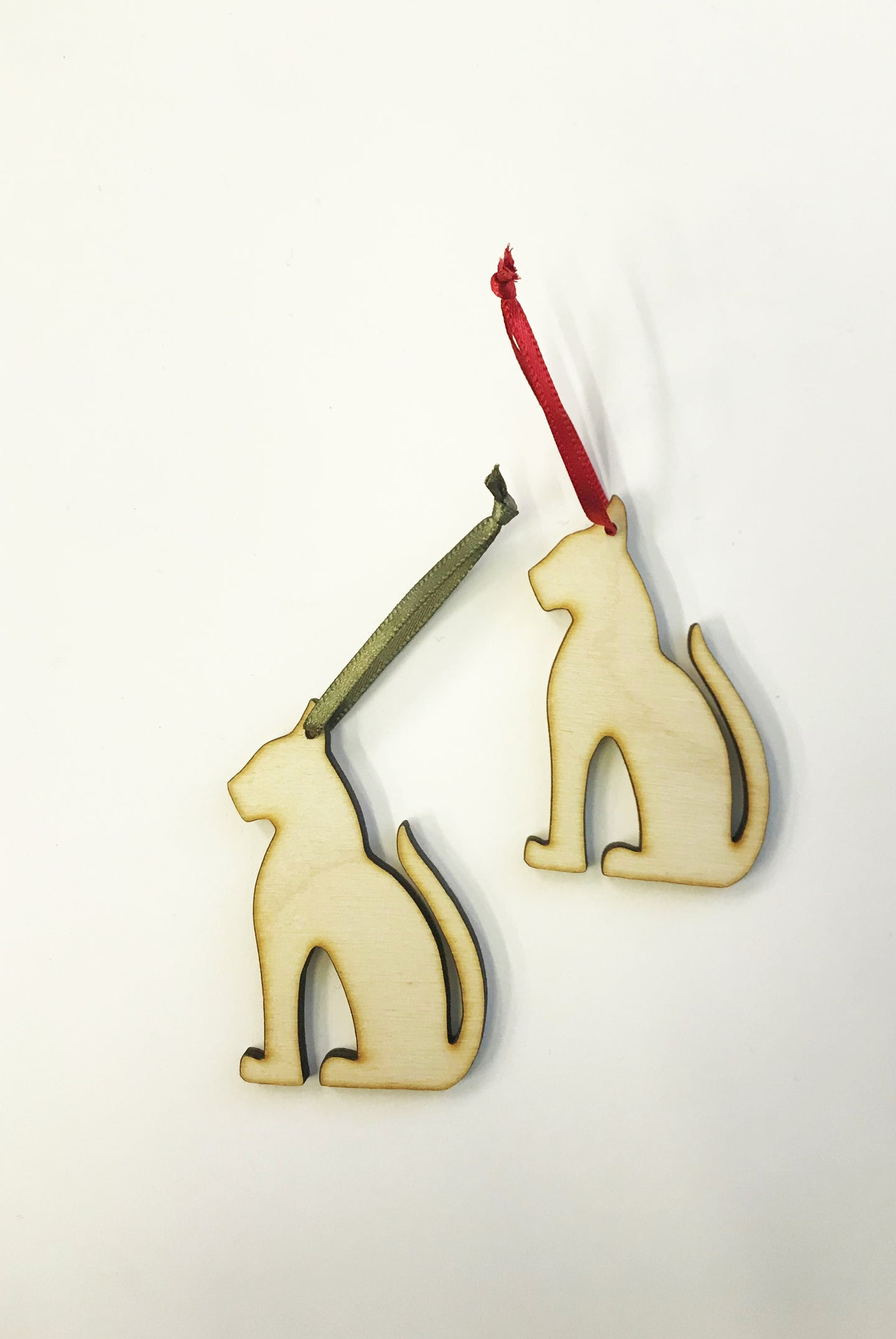 PF Wooden Decoration - Cat