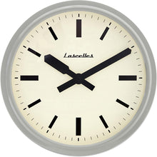 Load image into Gallery viewer, Deep Retro Dove Grey Wall Clock