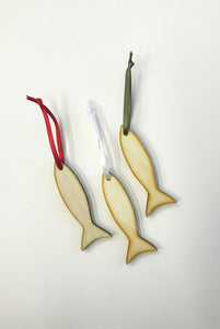 PF Wooden Decoration - Fish