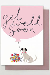 Dog Get Well Soon Card