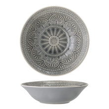 Load image into Gallery viewer, Serving Bowl, Rani -  Grey