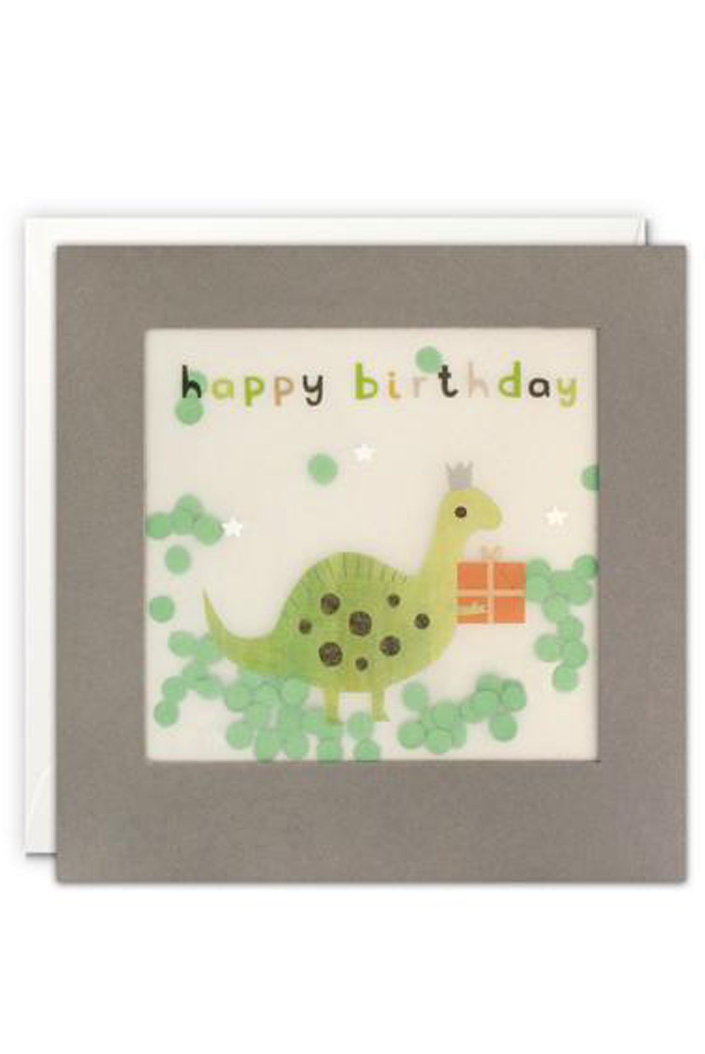 Dinosaur Shakies Birthday Card