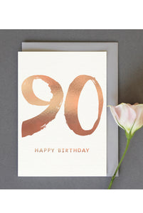 Kate Guest Rose Gold 90 Card