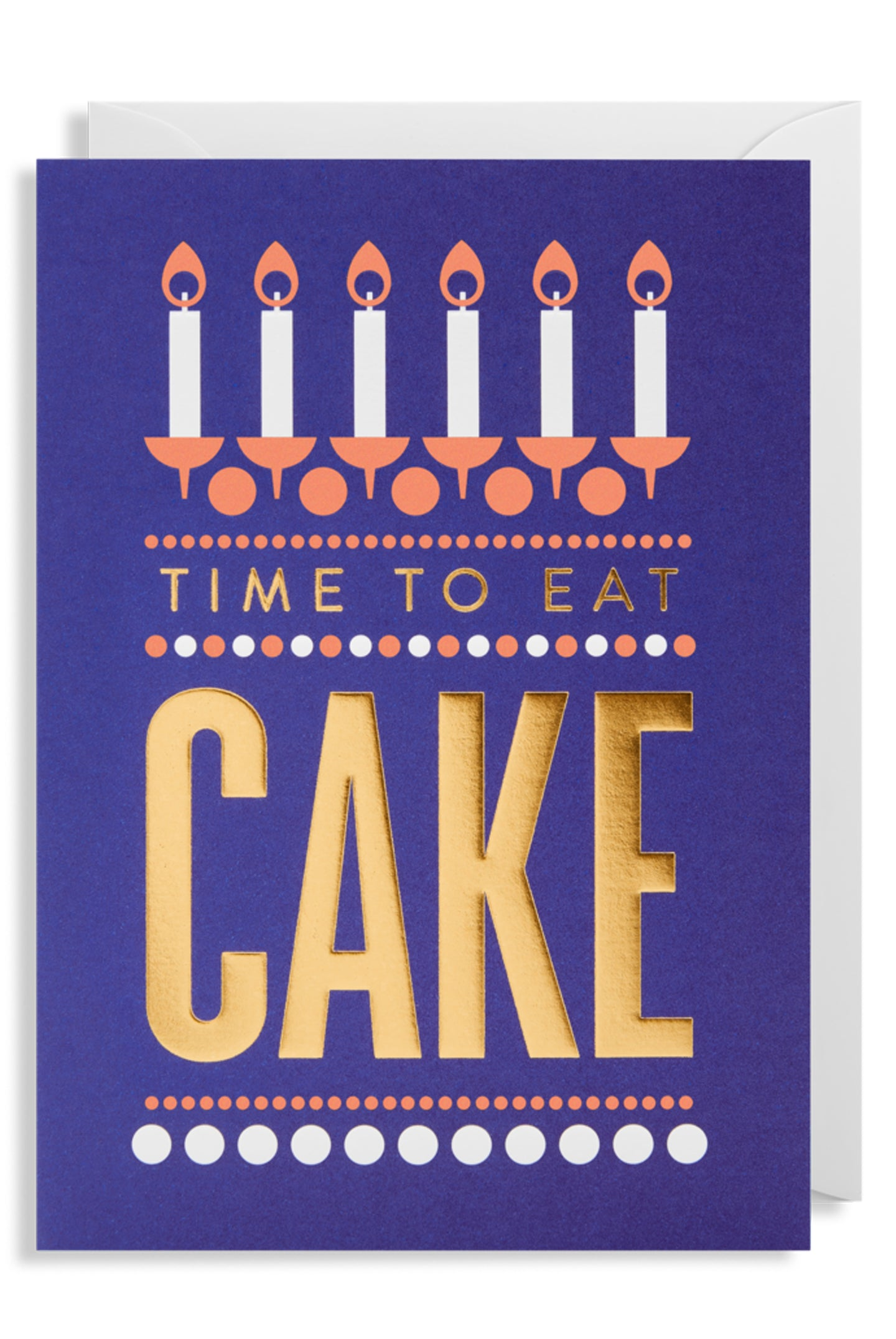 Lagom Time to Eat Cake Card