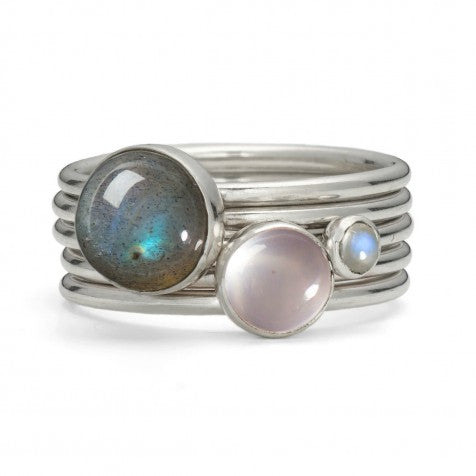 Alison Moore Frozen Stacking Ring