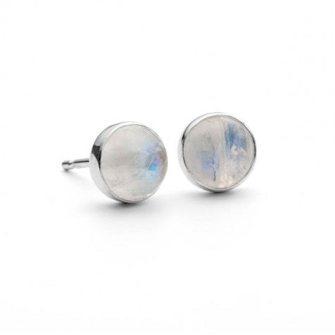Alison Moore Moonstone 6mm Gemstone Studs