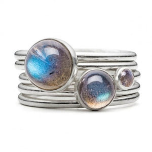 Alison Moore Storm Stacking Ring
