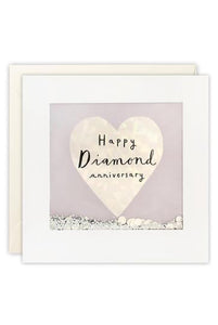 Diamond Shakies Anniversary Card