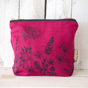 Linen Garden Toiletry Bag