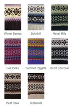 Load image into Gallery viewer, Funky Fair Isle Leg Warmers