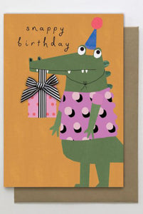 Snappy Birthday Card