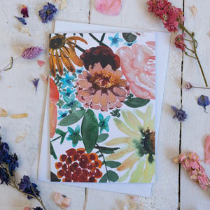 Sarah Leask Floral Card Collection