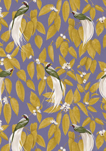 Lagom Birds of Paradise Wrapping Paper