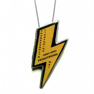 EllyMental Lightning Bolt Necklace - Medium