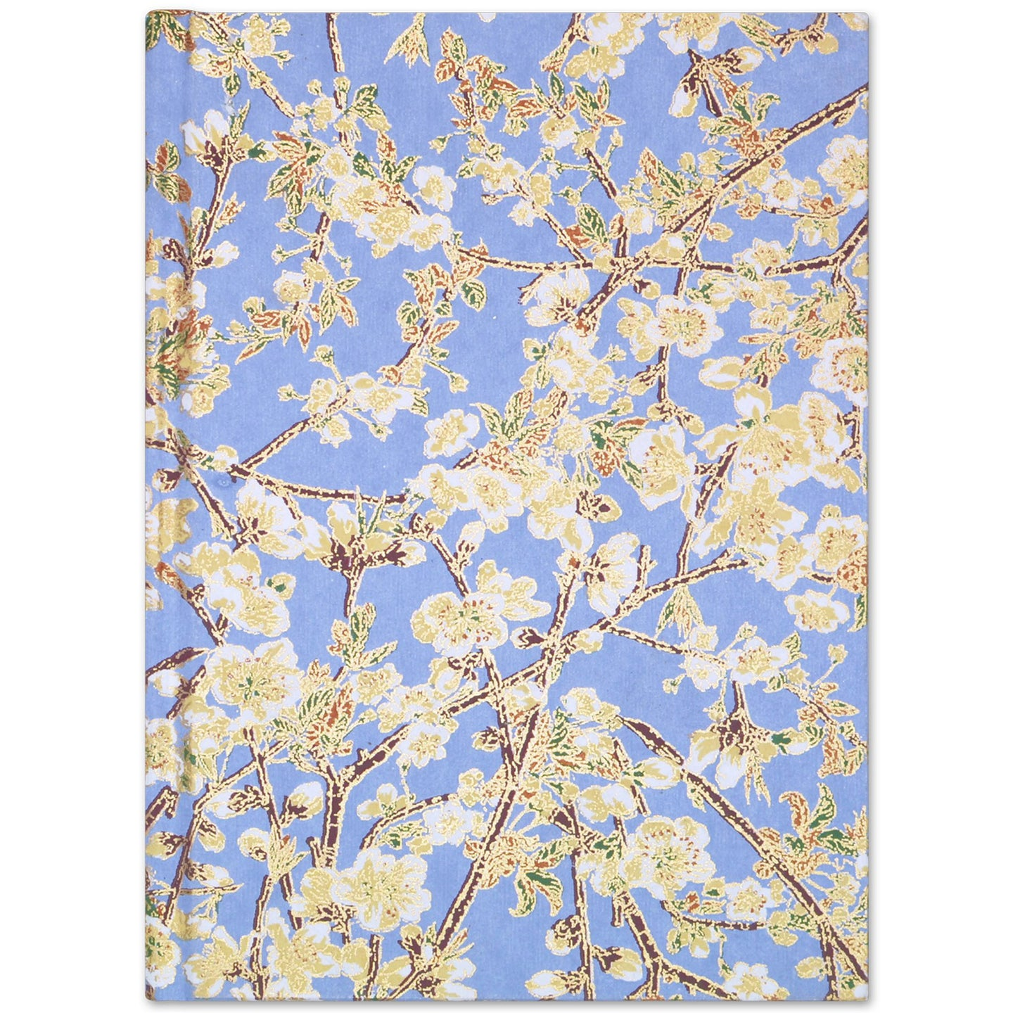 A5 Notebook Yellow Buds Blue