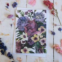 Load image into Gallery viewer, Sarah Leask Floral Card Collection