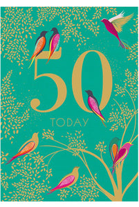 TAF 50th Sara Miller Card