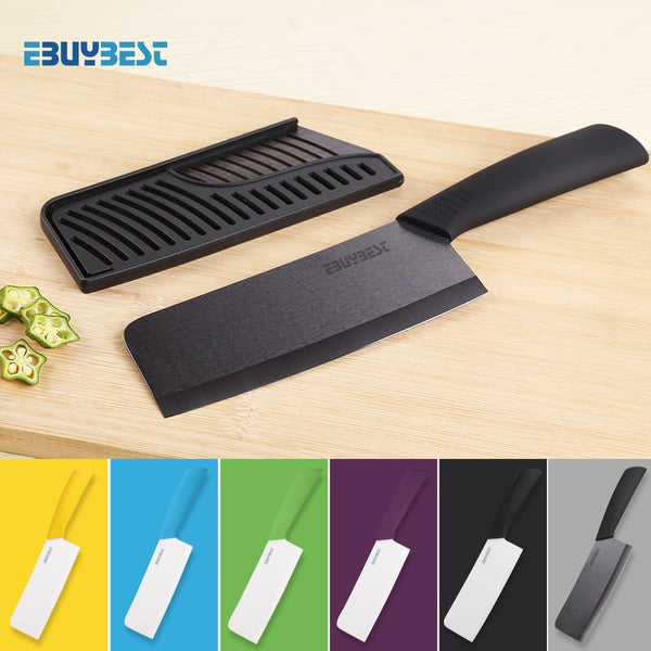 High Quality Zirconia Ceramic Knives Cook 6.5 inch  White / Black Blade Colorful Handle Chef Knife For Kitchen Cooking Tools