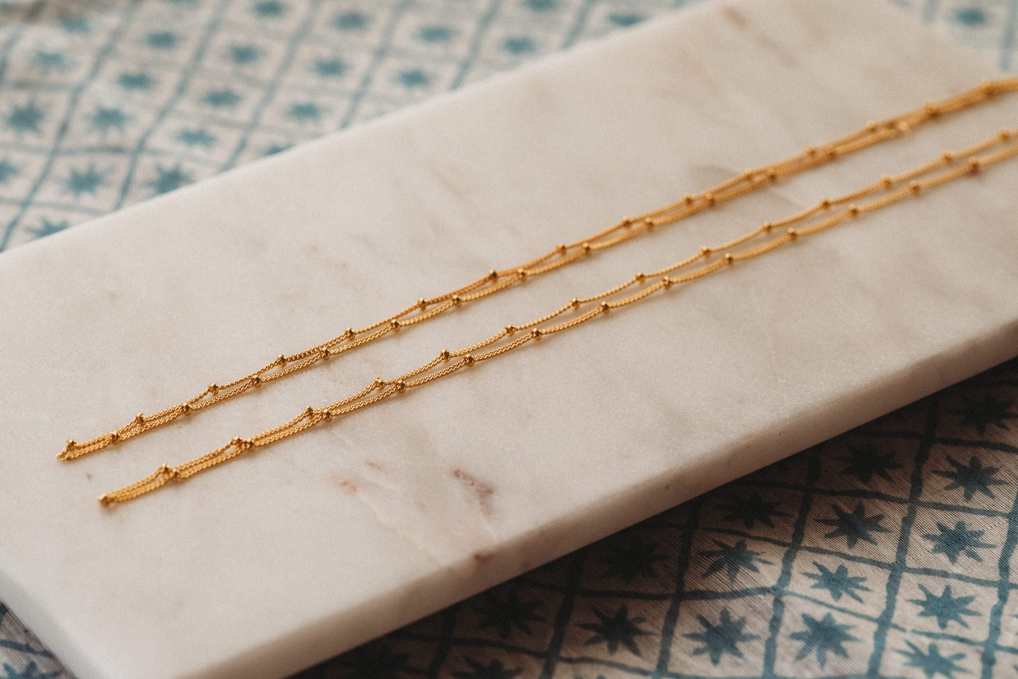 Gold Vermeil Plated Necklace