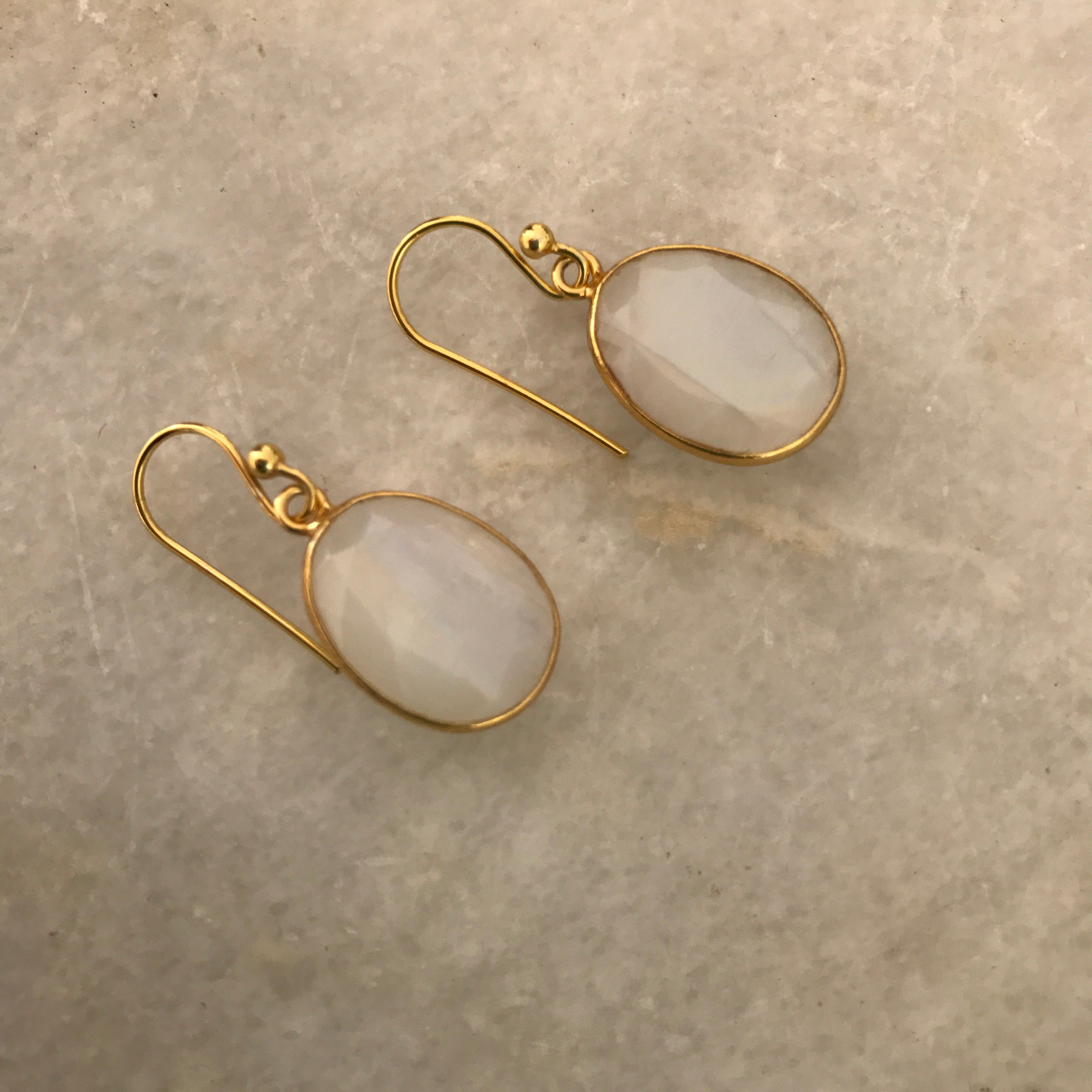 Moonstone Handmade Earrings