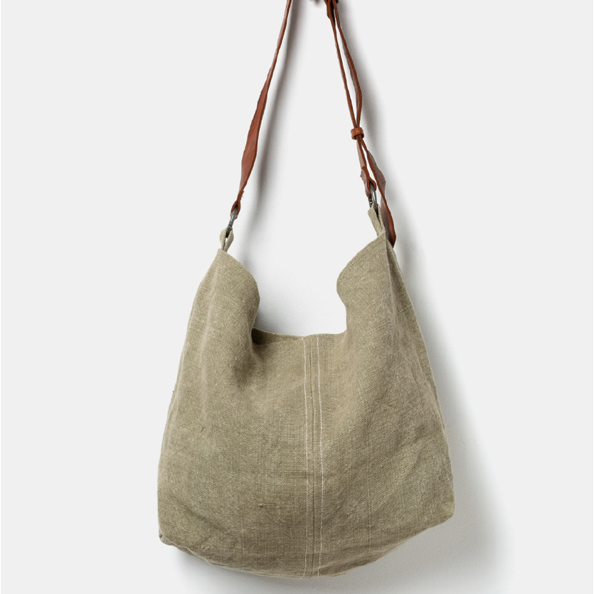 Juju & Co -  beach  jute  slouchy -   khaki