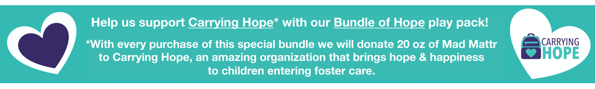 Help us support Carrying Hope with our Bundle of Hope play pack!