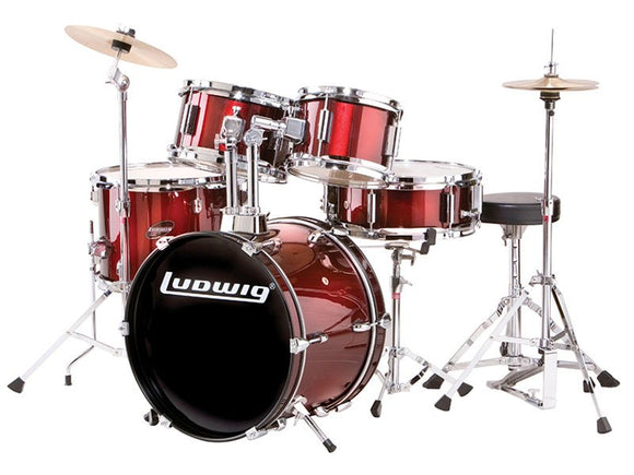 Ludwig Accent Fuse 5 Piece Drumset