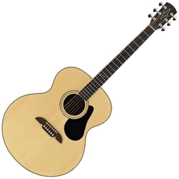 Alvarez Acoustic Electric Guitar AJ80E ( Jumbo)