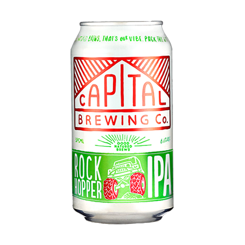 Capital Brewing Rock Hopper IPA