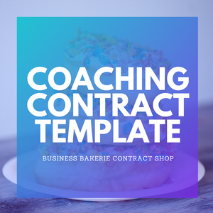Coaches + Consultants Agreement