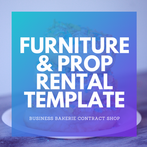 Furniture and Prop Rental Agreement